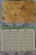 Calendar calendario anno 1994 1995 ORIGINALE ROLEX
