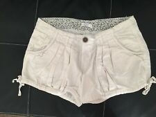 Short blanc lin et coton KAPORAL taille M