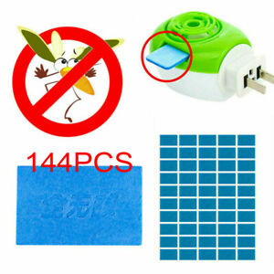 144Pcs Mosquito Repellent Insect Bite Mat Tablet Refill Replace Pest Repeller A+