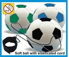 3 stress football rebond ball, sac de fête jouets