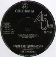 """SHADOWS ~ THEME FOR YOUNG LOVERS / THIS HAMMER ~ 1964 UK 7"""" SINGLE [Ref.1]"""