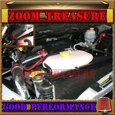 RED 2002-2010/02-10 DODGE RAM 3.7L 4.7L 5.7L V6 V8 COLD AIR INTAKE KIT STG2 3p