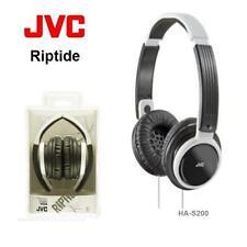 JVC HA-S200-W Riptide/Riptidz Portable Light Foldable On-Ear Headphones