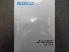 1999 2000 2001 2002 2003 2004 HONDA ODYSSEY VAN Service Shop Repair Manual NEW