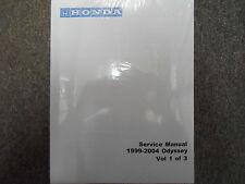 1999 2000 2001 2002 2003 2004 HONDA ODYSSEY VAN Service Shop Repair Manual NEW