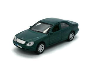 """Mercedes-Benz S-Class WELLY Diecast 1:38 Scale 4.5"""" Green"""