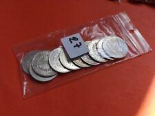 Lot 10 pièces argent 50 Francs Hercule année diverses Lot n° 27