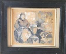 Jules JOETS 1884-1959.Femme au châle.Gouache sur litho.SBG.27x32.Justifié 25/25.