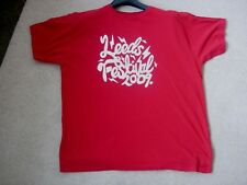 Leeds Festival unisex T shirt. 2009 Music Festival