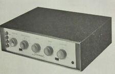 1958 SHERWOOD S-1000-II TUBE AMPLIFIER AMP SERVICE MANUAL PHOTOFACT SCHEMATIC