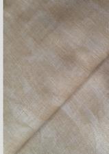 Vintage Mocha /Beige marbled 32 count Zweigart Belfast Linen fabric 50 x 140 cm