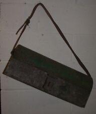 ANCIENNE CAISSE SACOCHE A OUTIL VINTAGE EN METAL PLOMBIER ELECTRICIEN  deco loft
