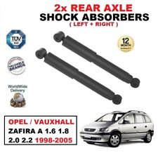 2x REAR SHOCK ABSORBERS SET for OPEL VAUXHALL ZAFIRA A 1.6 1.8 2.0 2.2 1998-2005
