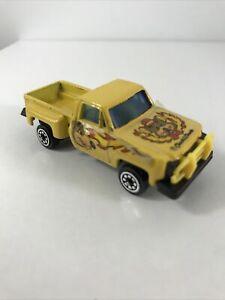Vintage Chuck E Cheese Stepside style Pickup farm Truck 1/64 Die Cast rare