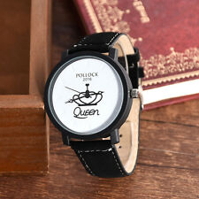 Men Brand Female Male Quartz Wristwatch King Queen Watches Women Lovers Watch