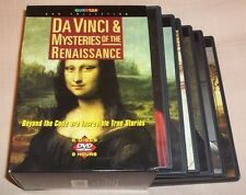 Da Vinci  Mysteries of the Renaissance (DVD, 2005, 6-Disc Set) VGC