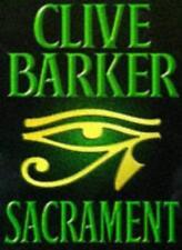 Sacrament,Clive Barker- 9780002235617