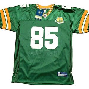 Greg Jennings Green Bay Packers 50th Year Anniversary Jersey Size 52 NWT Sewn