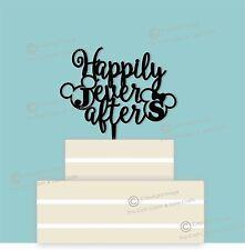 """DISNEY PERSONALIZZATA """"felici e contenti"""" wedding cake topper, COPPIA"""