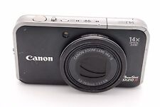 Canon PowerShot SX210 IS 14.1MP Digital Camera - Black