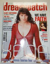 Dreamwatch Magazine Clint Eastwood & Faith Xena November 2000 033115R2
