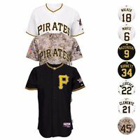 Pittsburgh Pirates Authentic On-FIeld Cool Base Jersey Collection MAJESTIC Men's