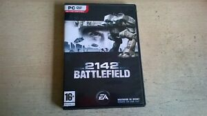 BATTLEFIELD 2142 - PC GAME - FAST POST - ORIGINAL & COMPLETE WITH MANUAL - VGC