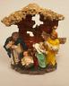 Krippe Heilige Familie Engel Weihnachten Weihnachtsdeko Deko 12x9x4cm