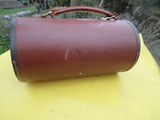 VINTAGE TAYLOR ROLPH BOWLS BAG LEATHER STRAPS HANDLE HOLDS TWO BOWLS SPORTS