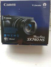 Canon PowerShot SX740 HS 20.3MP Digital Camera - Black