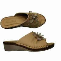 Van Dal Lincoln Taupe Print Leather Sandals