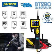 AUTOOL BT280 9-30V Car Circuit Analyzer Electric System Tester Diode Diagnostic