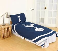 New TOTTENHAM F.C. Official Football Single Duvet Quilt Cover Set Boys Spurs