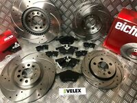 EICHER FRONT & REAR DRILLED & GROOVED DISCS & PADS AUDI TT 1.8T QUATTRO 225