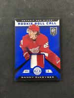 2013-14 PANINI TOTALLY CERTIFIED DANNY DEKEYSER ROOKIE ROLL CALL PATCH #ed 46/50
