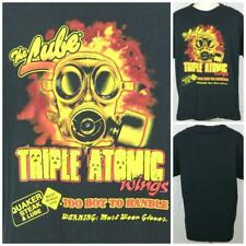 """The Lube Triple Atomic Chicken Wings Doomsday Preppers  XL T-Shirt 22.5"""" Pit2Pit"""