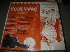 Hootenanny Tonight! Folkways Records FN 2511 Pete Seeger Les Pine Earl Robinson