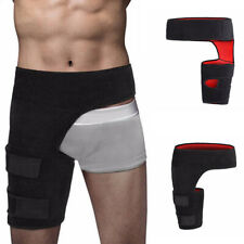 New Hip Brace - Compression Groin Support Wrap for Sciatica Pain Relief Thigh