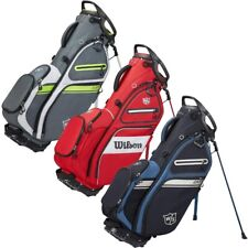 New Wilson Staff 2021 Exo Ii Stand Golf Bag 5-way Top - You Pick the Color!