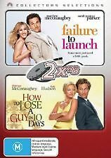 FAILURE TO LAUNCH/HOW TO LOSE A GUY IN 10 DAYS (MATTHEW McCONAUGHEY) NEW 2 DVDs