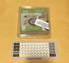 Cricut Cartridge Anna's Holiday Home Decor + Universal Keypad Overlay