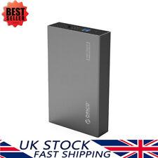 ORICO Aluminium 3.5 Inch USB 3.0 SATA SSD/ Hard Drive Enclosure w/ EU+UK Plug