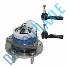 NEW Front LH or RH Wheel Hub and Bearing Assembly w/ ABS + 2 Outer Tie Rod Ends