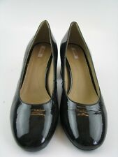 Geox Damen Pumps in schwarz Leder Gr. 37
