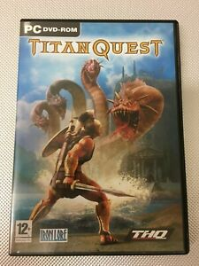 PC DVD ROM TITAN QUEST (MBO)