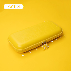 Kawaii Solid Color Nintendo Switch & Switch Lite Carrying Case Pouch with Stand