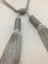 Silver Tie Back