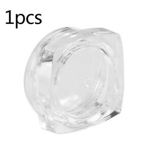 Small Clear Travel Sample Pots Jars Pieces Containers 5g 5ml with Clear Lids