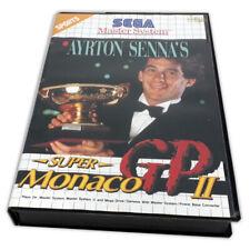 Sega Master System Ayrton Senna Super Monaco GP 2 English