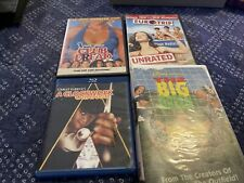 Movie Lot (Big green-Vhs, Euro Trip, Club Dread-Dvd, Clockwork Orange-Blu Ray)